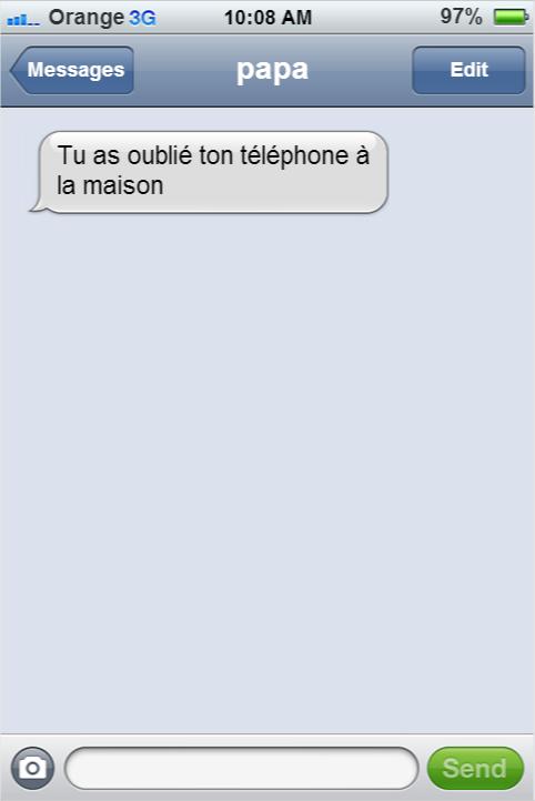 SMS drôles humour