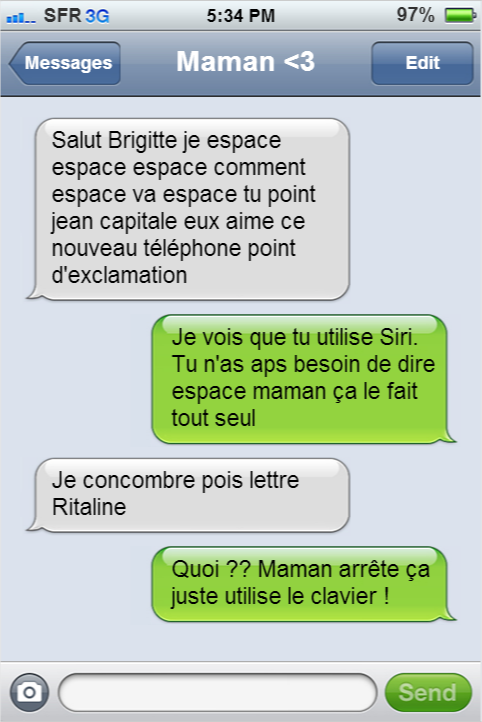 SMS drôles humour smartphone