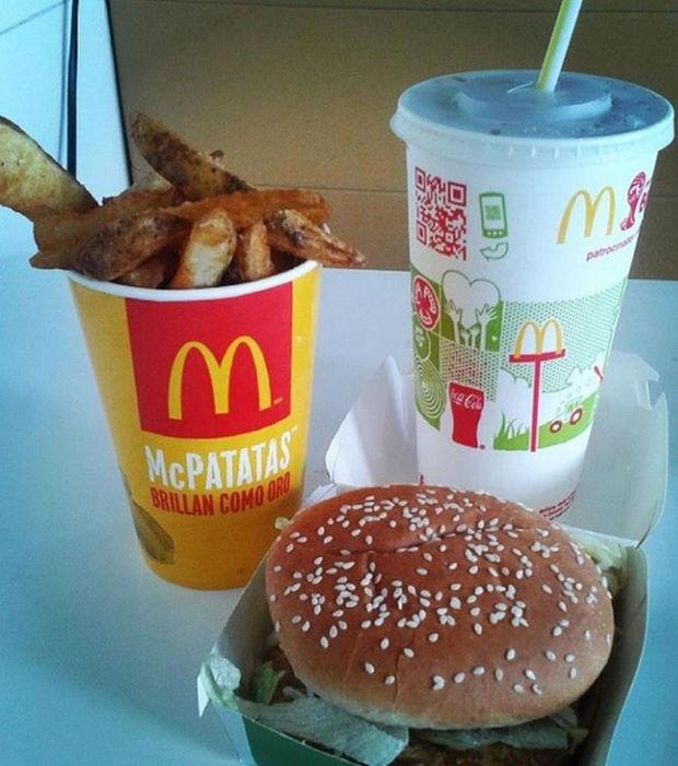 recettes McDonald's Mexique
