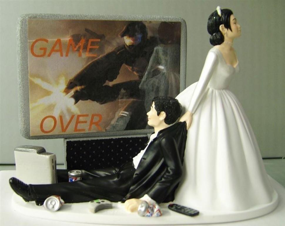 17 Figurines De Gâteau De Mariage Complètement Hilarantes