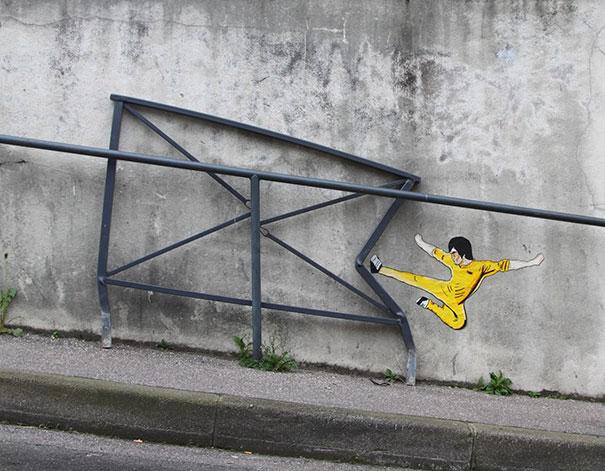 actes de vandalisme urbain géniaux