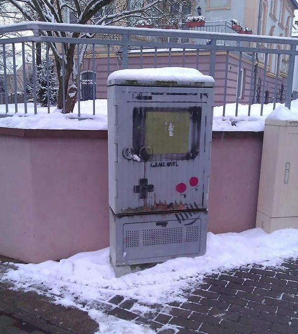 dessins urbains tags graffitis gameboy