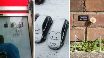 tags rue dessins urbains humour