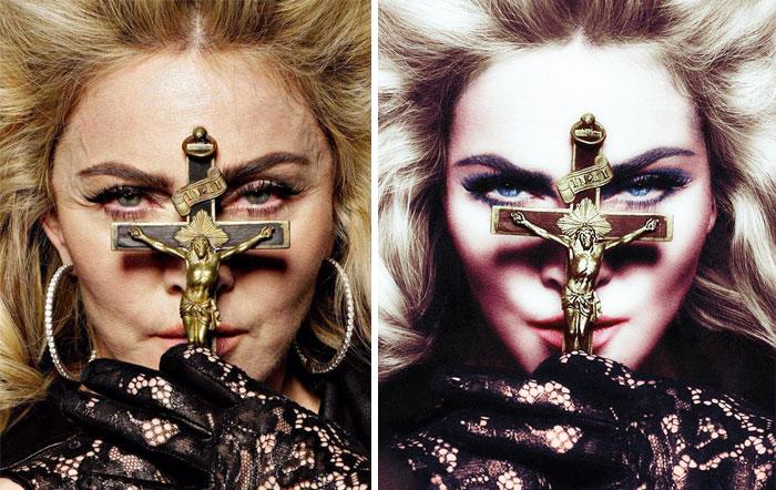 photoshop Madonna