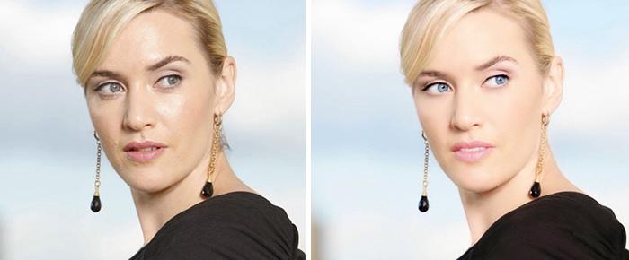 photos stars retouchées photoshop Kate Winslet