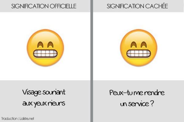 smiley embarrassé emoji