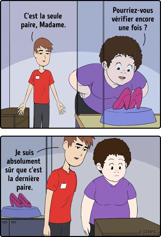 dessins humour commerce