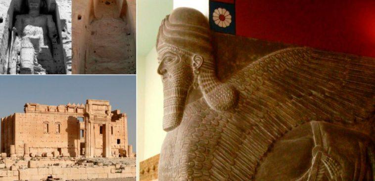11 monuments antiques d truits par les terroristes la liste. Black Bedroom Furniture Sets. Home Design Ideas