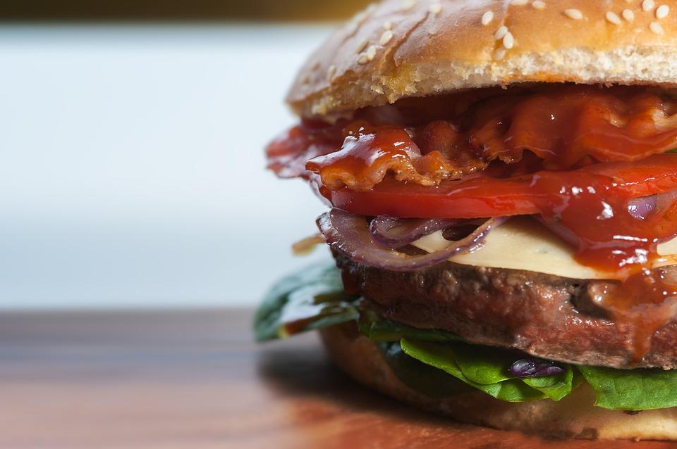 burger fast food cholestérol