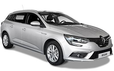 renault mégane grise voiture