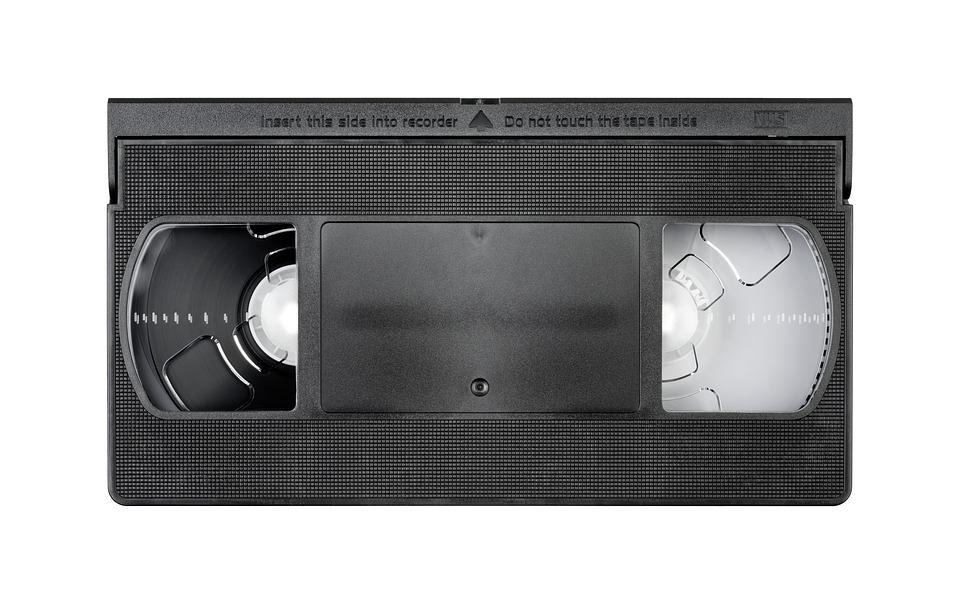 cassette vidéo années 90 magnéto