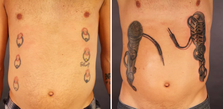 10 Amazing Tattoo Transformations! Dated Old Designs Given