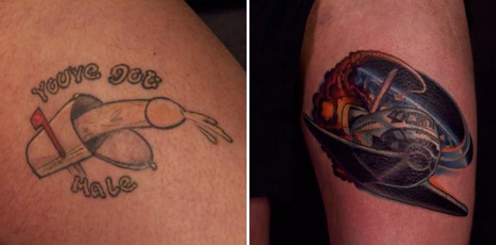 10 Personnes Qui Ont Décidé De Faire évoluer Leur Tatouage