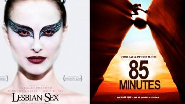 affiches de films revisitées