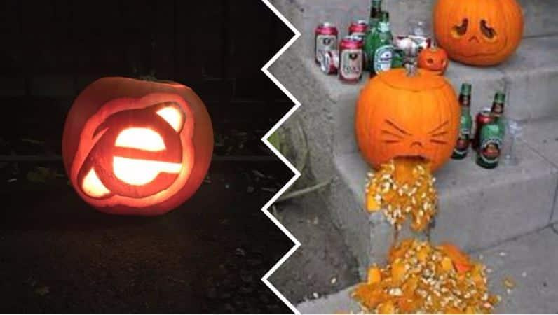 citrouilles d'Halloween originales