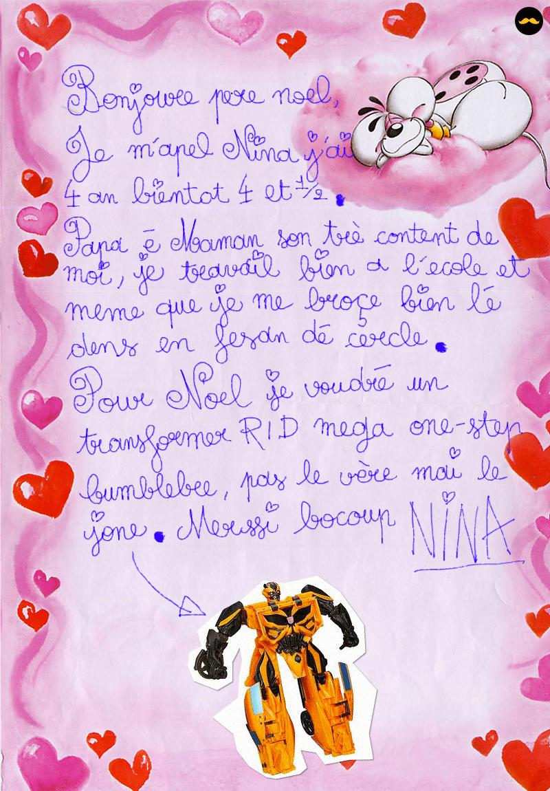 Une Lettre De Pere Noel.16 Lettres D Enfants Adressees Au Pere Noel Qui Vont Vous
