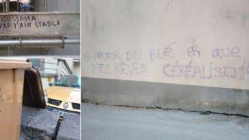 tags et graffitis drôles murs rue
