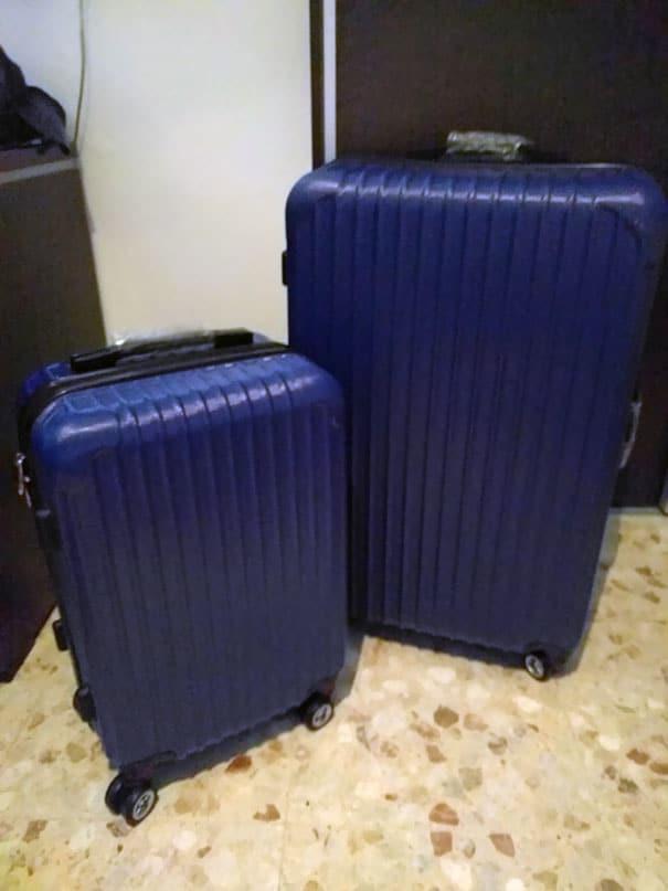 cadeaux de Noël empoisonnés valises