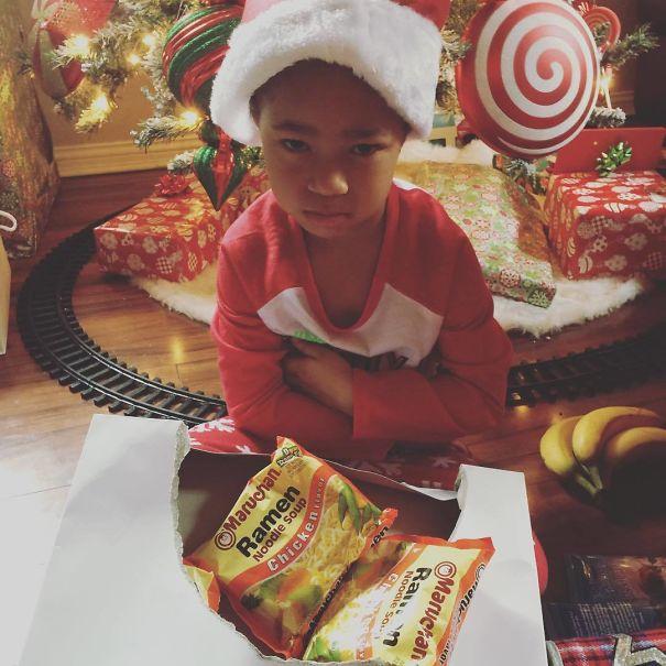 cadeaux de Noël empoisonnés