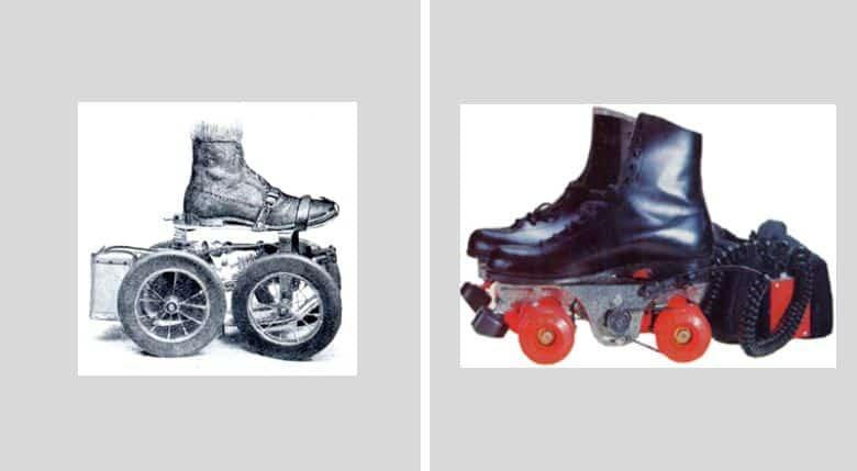 vrais inventions a gogo, qui ont déja vu le jour Rollers-a-moteurs
