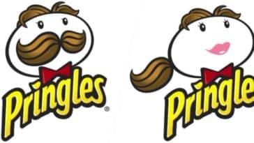 logos de marques revisités au féminin
