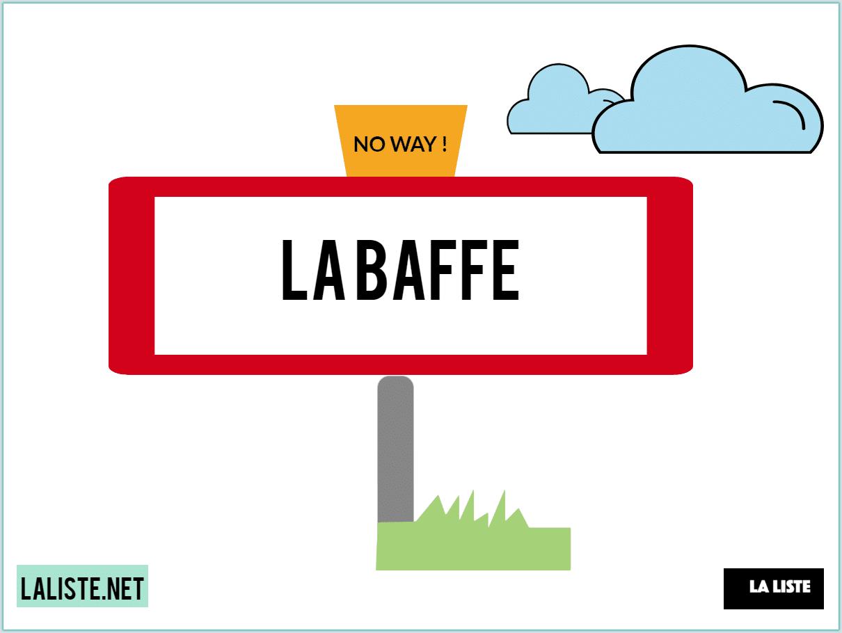 ville de La Baffe commune