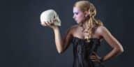 morts étonnantes crâne