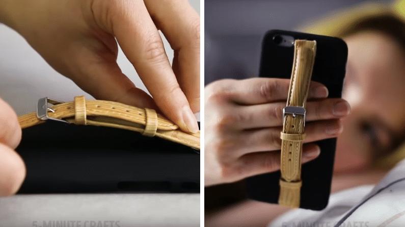 customiser son smartphone boucle ceinture