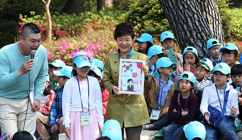 enfants coréens