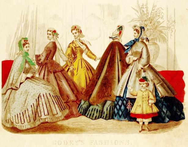 morts étonnantes robes victoriennes