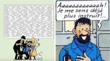 insultes du capitaine haddock decryptees