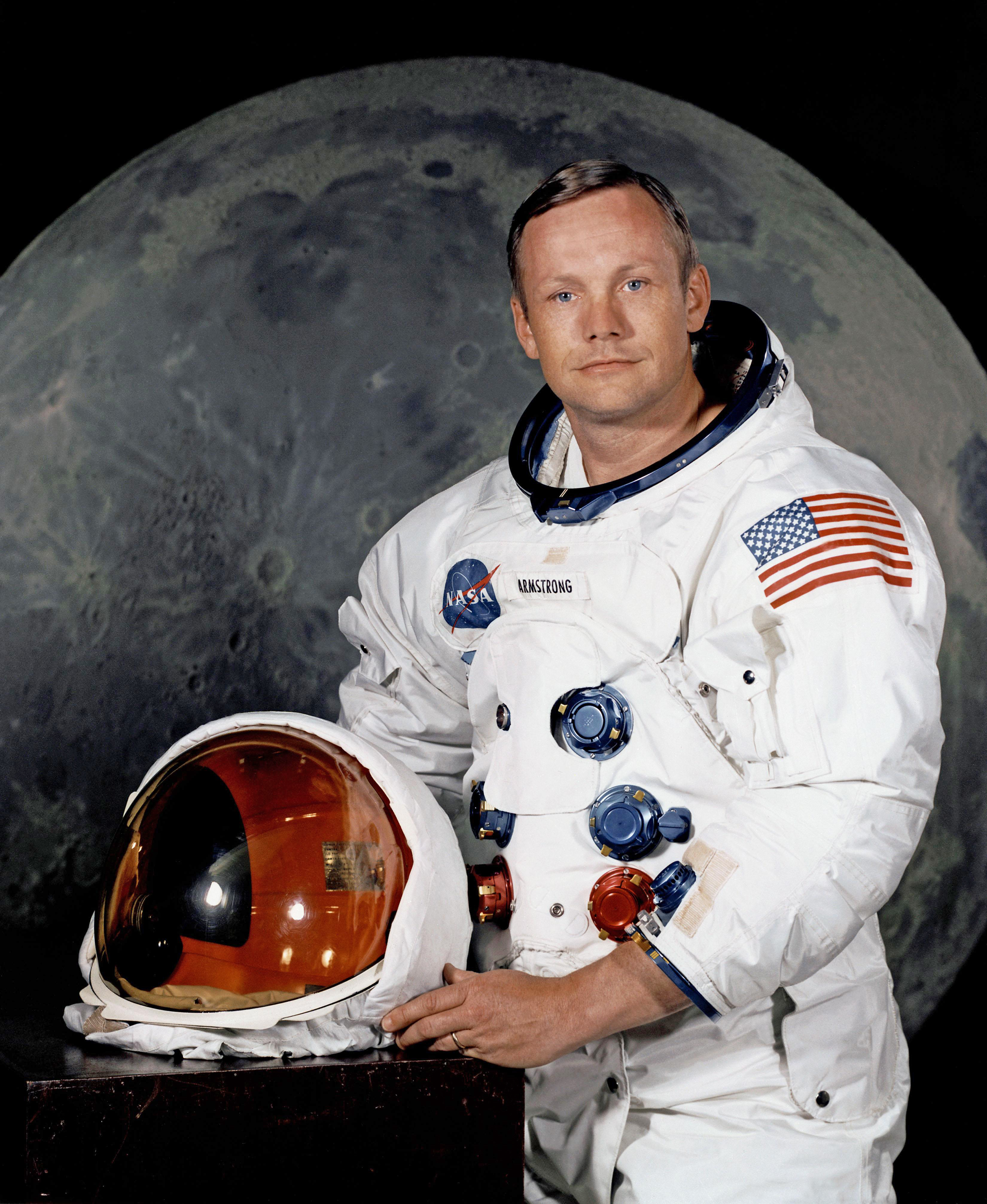 Neil Armstrong lune