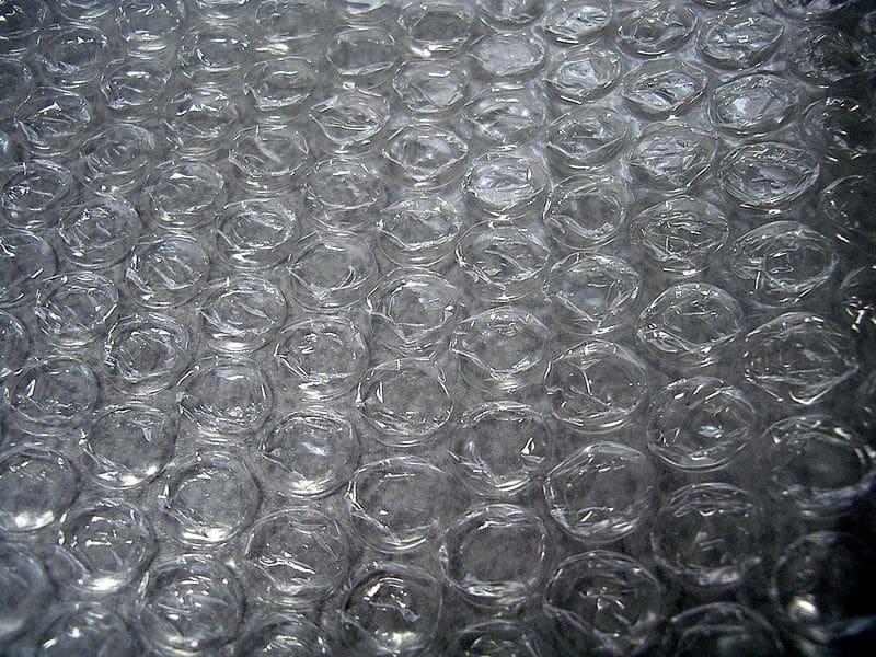 Papier bulles anecdotes