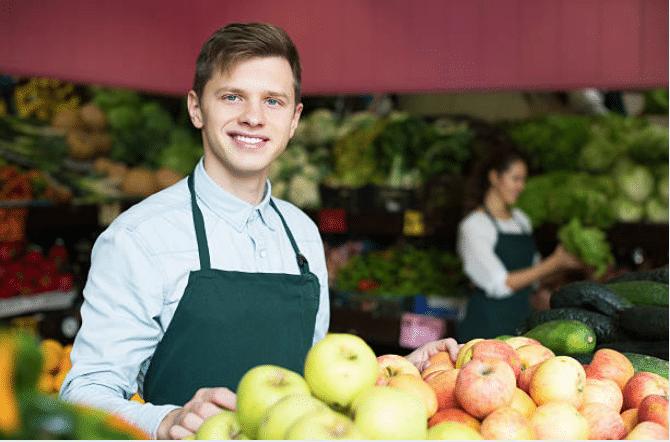 Vendeur marche pommes jobs d ete