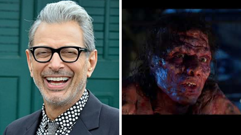 Jeff Goldblum La mouche Maquillage