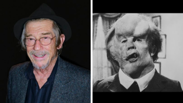 John Hurt Elephant Man maquillages de cinema