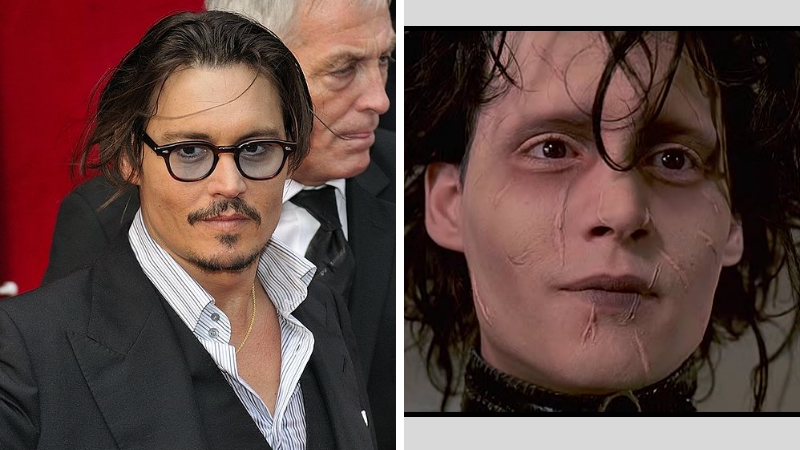 Johnny Depp Edward aux mains d'argent