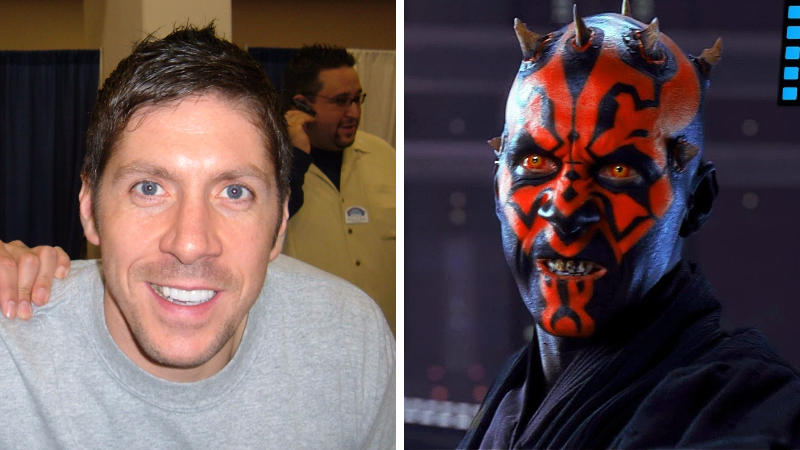 Ray Park Darth Maul maquillages de cinéma