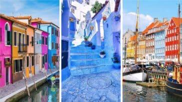 les villes les plus colorees du monde entier