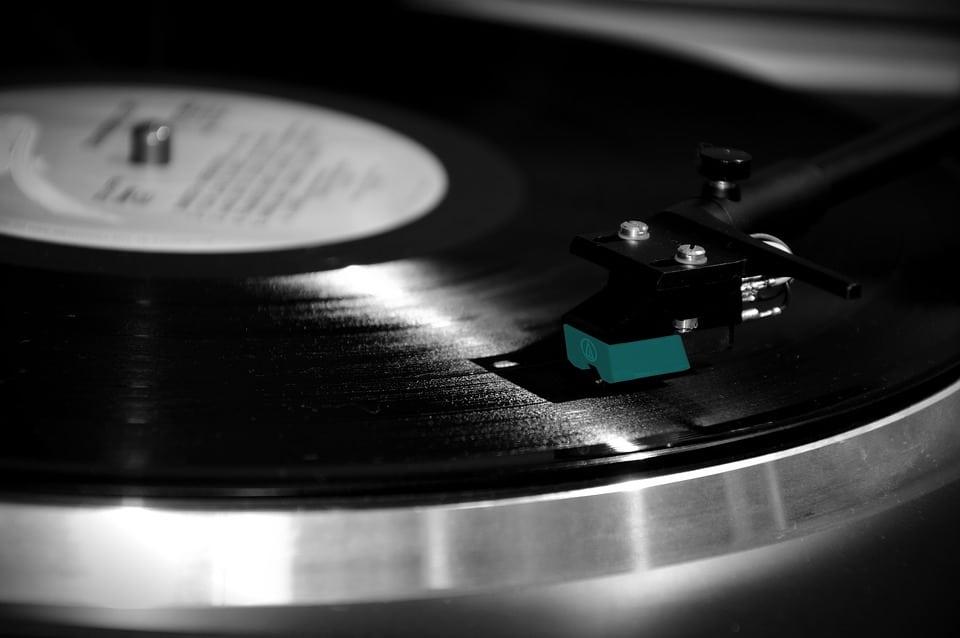 disques vinyle objets vintage