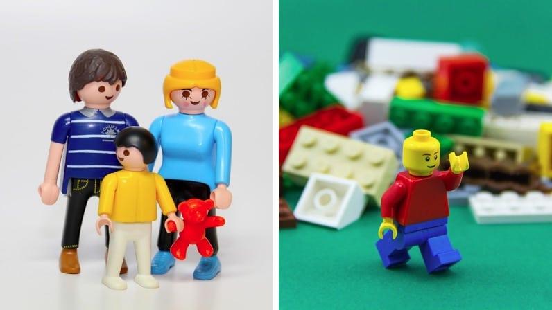 Playmobil famille jeu jouet Lego