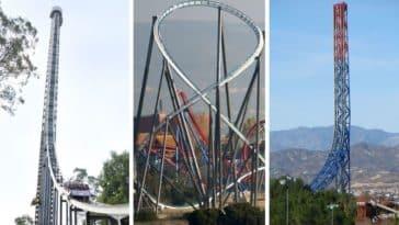 plus grandes montagnes russes du monde manege roller coaster