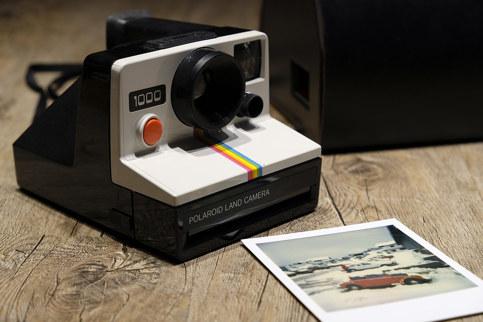 polaroid photo objets vintage