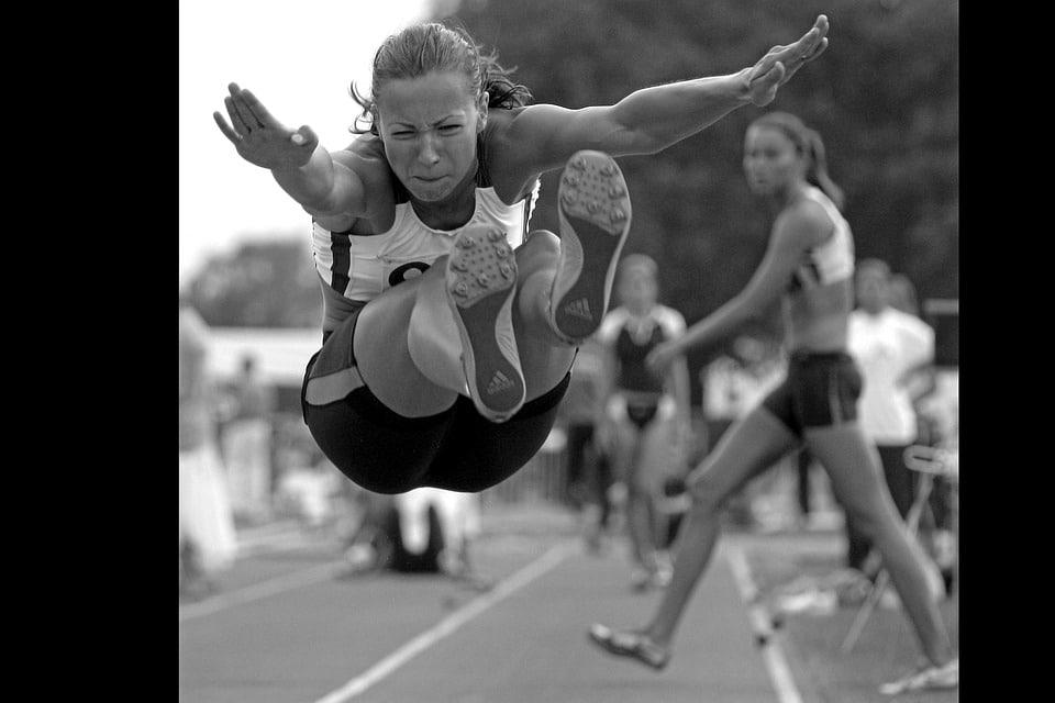 saut sans elan jeux olympiques