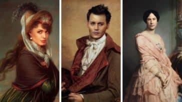 tableaux célèbres stars