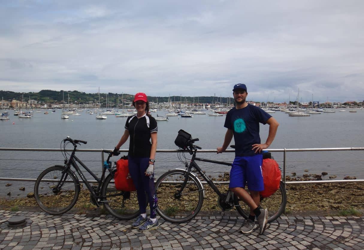 hendaye vélos cyclistes velodyssee