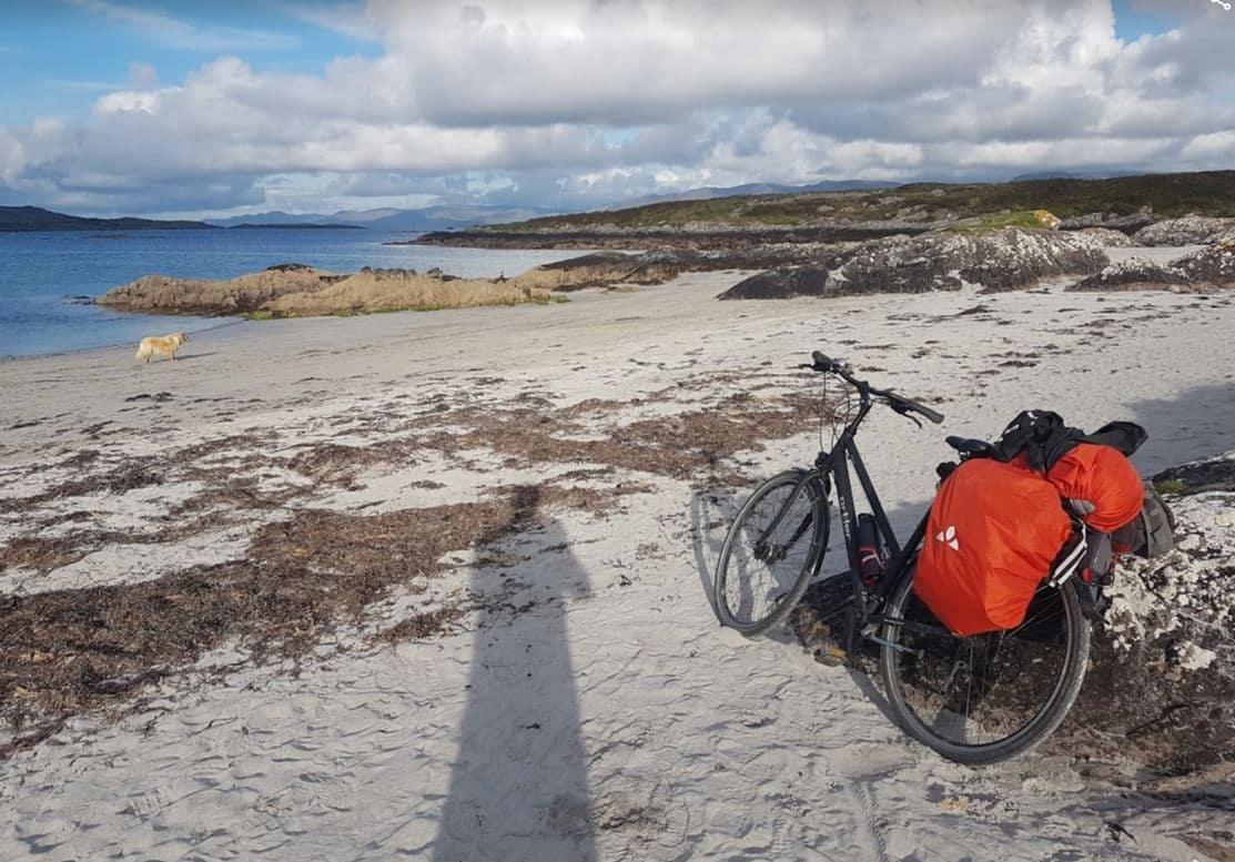 Irlande à vélo plage voyages thématiques