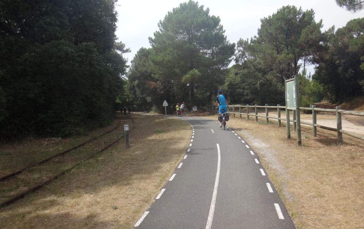 piste cyclable vélos