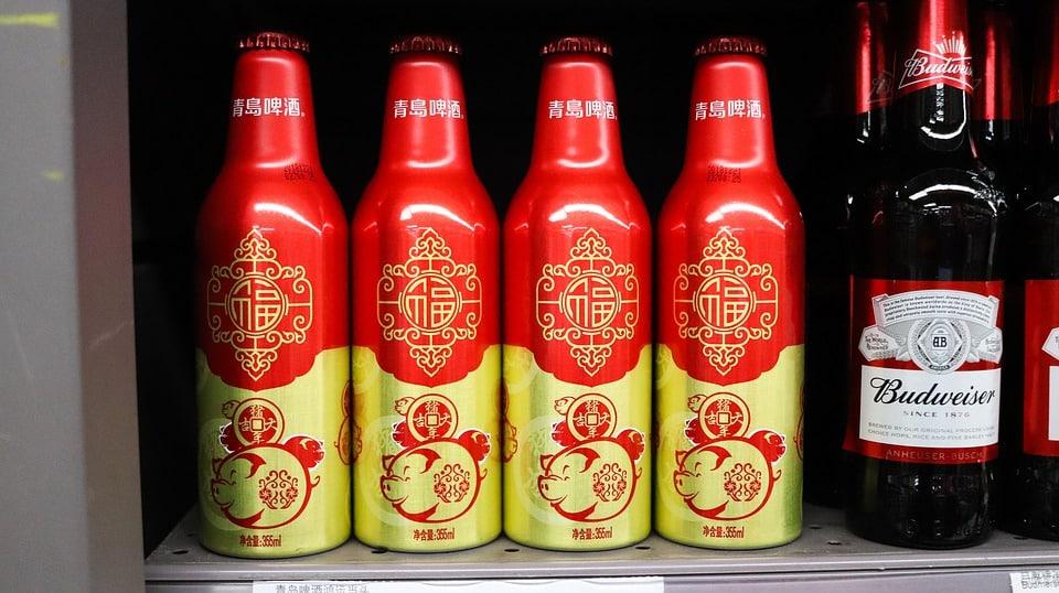 bières chinoises alcool