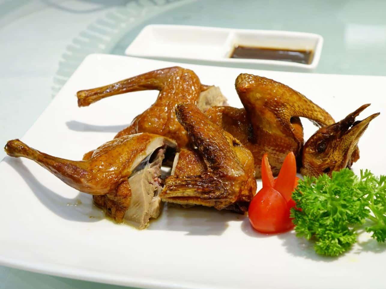 volaille plat étrange en chine poulet